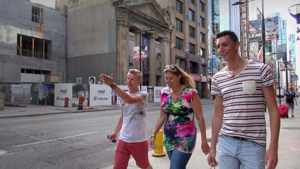 Lody, Germaine en Dennis in Toronto - Het zaad en de 11 eitjes.