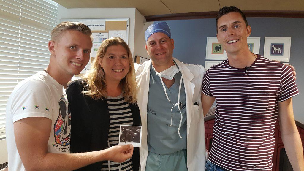 Lody, Germaine, Dokter Baratz en Dennis - Het zaad en de 11 eitjes.